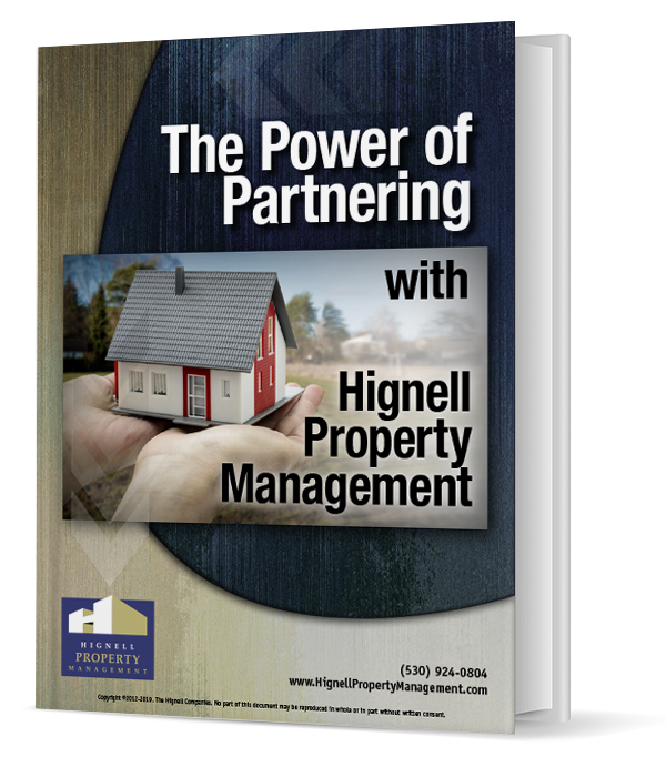 Book Cover for The Power of Partnering with The Hignell Companies for Your Property Management